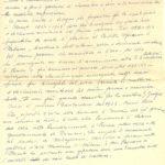 Appunti autobiografici, documento d'archivio - Fondazione Giuseppe Mozzanica.