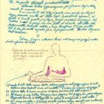 Epistola da parte di Garibaldo Alessandrini per esecuzione del mezzobusto dell'opera il naufrago in marmo, 18 settembre 1951, documento d'archivio - Fondazione Giuseppe Mozzanica.